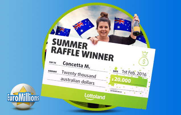 Summer Raffle Winners Announced