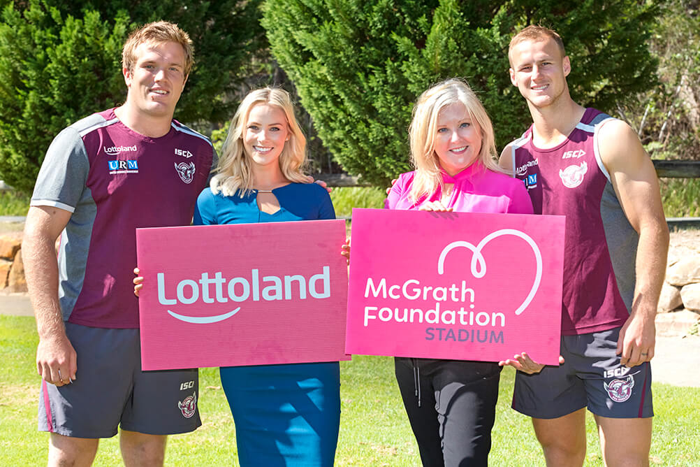 Lottoland donates naming rights to McGrath Foundation for Women in League Round