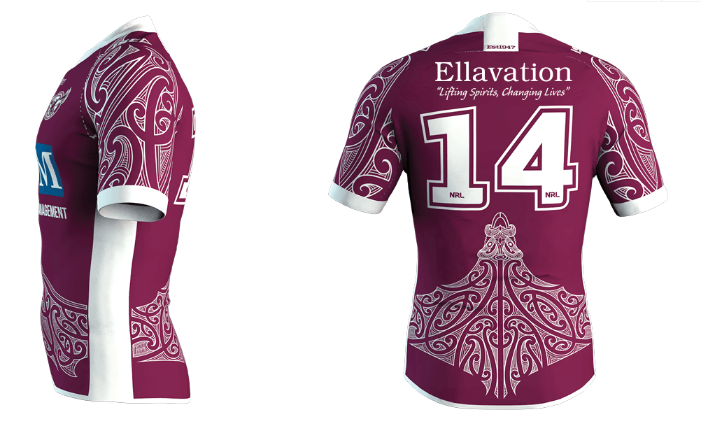 Lottoland donates Sea Eagles Māori jersey branding to Ellavation