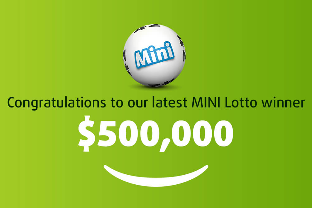Mini Lotto Punter Turns Fifty Cents Into $500,000!
