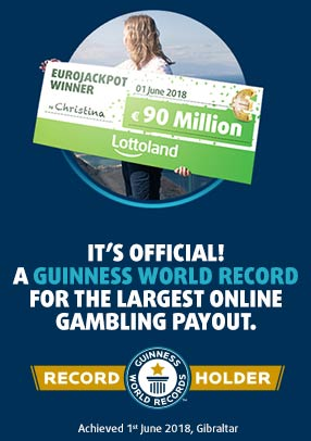 Lottoland achieves Guinness World Record