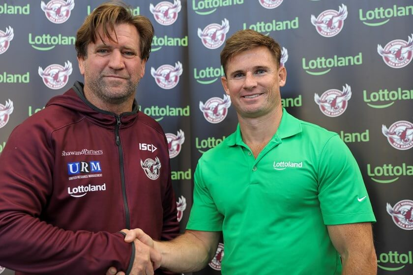 Lottoland Upgrades Manly Sea Eagles Partnership